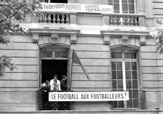 Football to the footballers