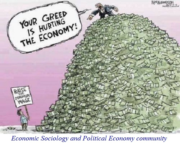 """Your Greed is Hurting the Economy!!"""