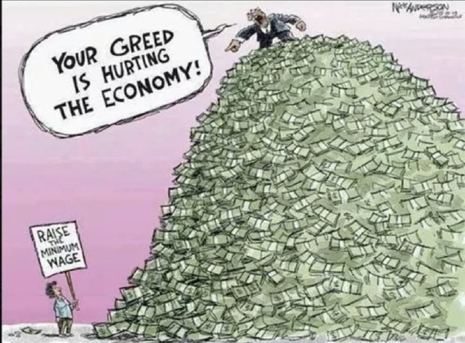Your Greed is Hurting the Economy!! | Economic Sociology ...