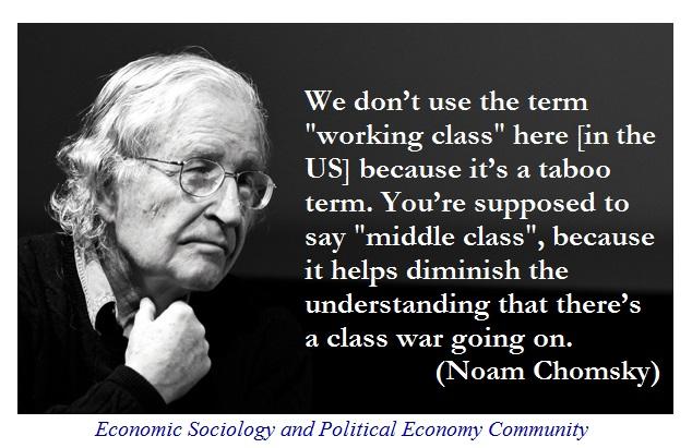 Noam Chomsky class war
