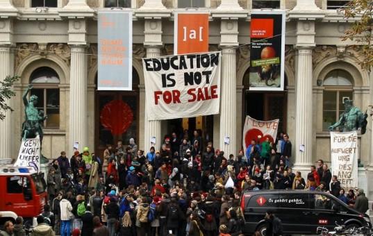 occupy university neoliberalism