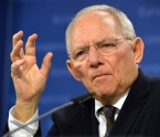 Schäuble german finance minister
