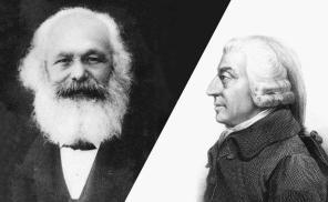 Karl_Marx Adam Smith