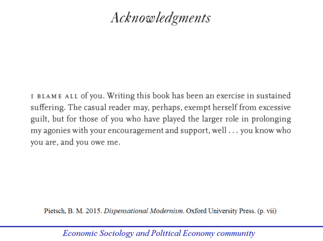 Best Acknowledgments