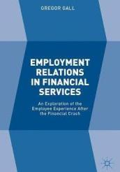 Employment Relations in Financial Services An Exploration of the Employee