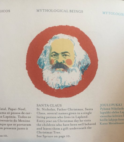 Santa Claus Karl Marx