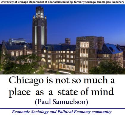 University of Chicago Department of Economics