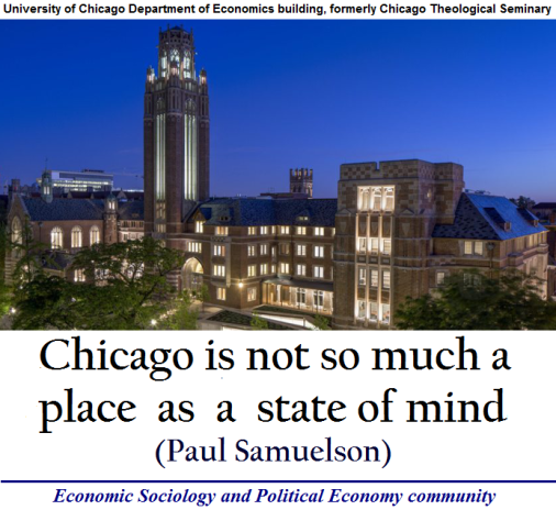 University of Chicago Department of Economics