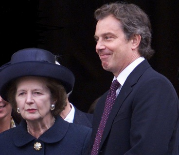 Thatcher Tony Blair neoliberalism