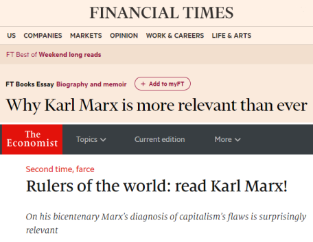 Reading On Karl Marxs Th Anniversary  Economic Sociology And  Karl Marx Anniversary