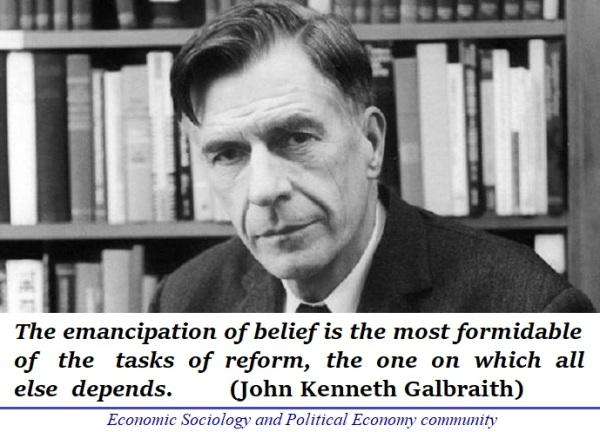 Galbraith vs. Friedman --