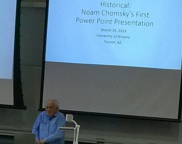noam chomsky power