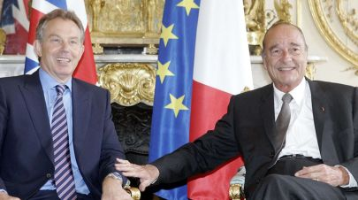 jacques chirac tony blair