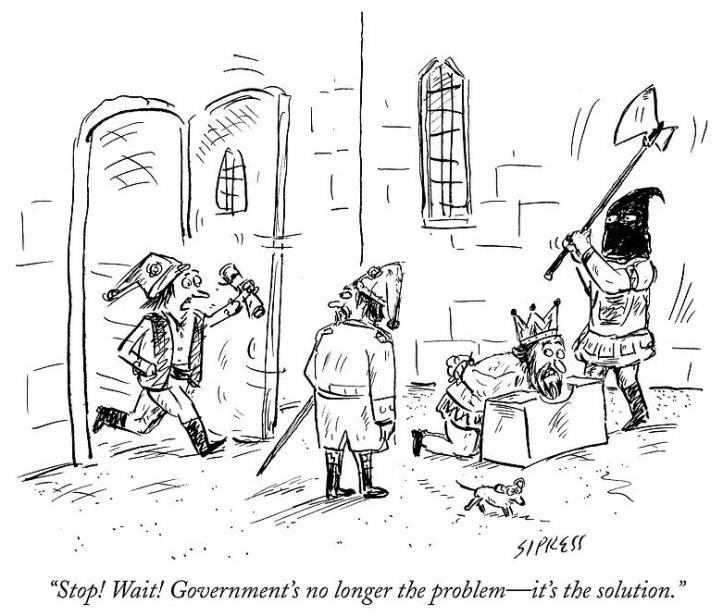 Stop! Wait! Government's no longer the problem - it's the solution